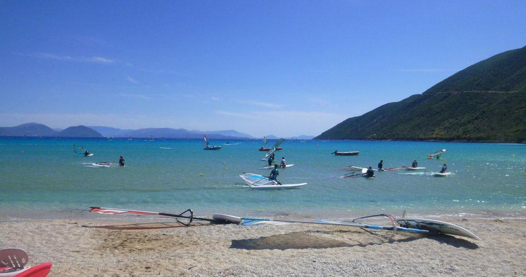 Lefkada Blue - Wind Surf Vasiliki Lefkada